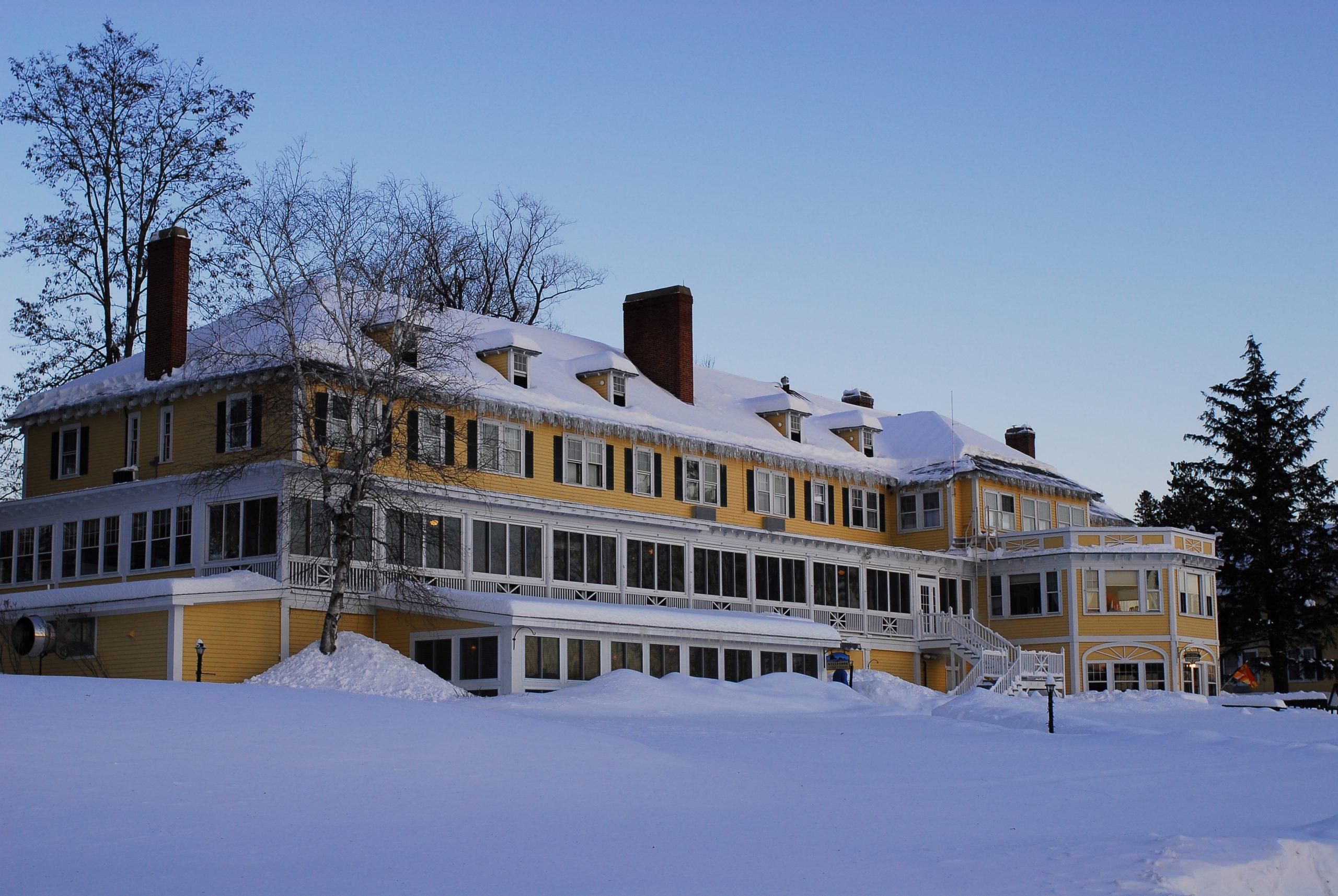 The Bethel Inn in Winter
